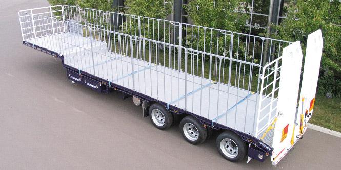 drop deck trailer