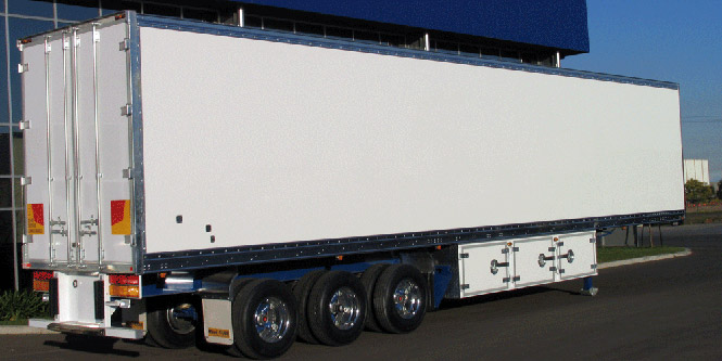 dry freight trailer